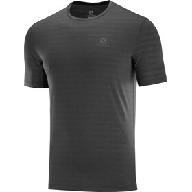 Salomon XA Camo Camiseta Manga Corta Hombre, black/heather